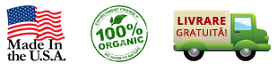 Made in USA, 100% Organic